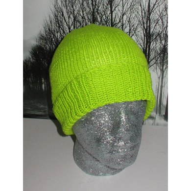 Simple Doubleknit Beanie Hat