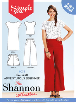 Simple Sew Patterns The Shannon Collection #033 - Sewing Pattern