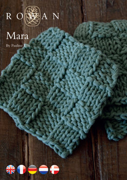 Mara Coaster in Rowan All Seasons Chunky