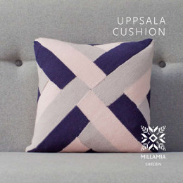 Uppsala Cushion Cover in MillaMia Naturally Soft Merino - Downloadable PDF