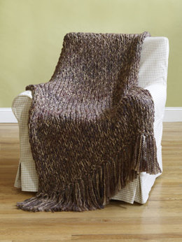 6-Hour Afghan in Lion Brand Homespun - 90031AD