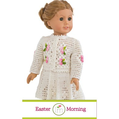 Easter Morning Set For 18 Inch Dolls Doll Clothes Crochet Pattern