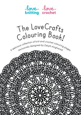 The LoveCrafts Colouring Book  by Delyth Angharad