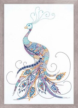 Riolis Bird of Luck Embroidery Kit - 21cm x 30cm