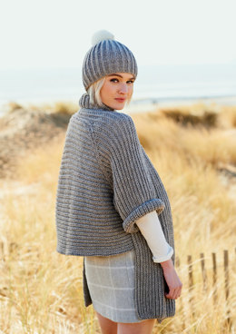 Cardigan and Hat in Rico Essentials Alpaca Blend Chunky - 346 - Downloadable PDF