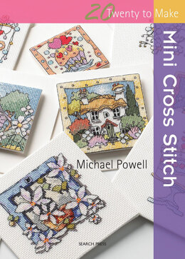Search Press Mini Cross Stitch (Twenty to Make) - 1000589 -  Leaflet