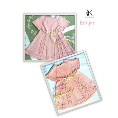 Emlyn top down raglan dress (child)