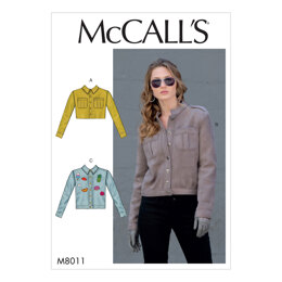 McCall's Misses' Jackets M8011 - Sewing Pattern