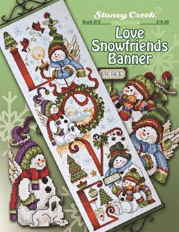 Stoney Creek Love Snowfriends Banner - Book - SCB513 -  Leaflet