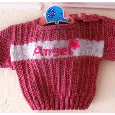 Knitting Pattern Writing : Write On Baby Knitting pattern by Wightstitches Knitting Patterns LoveKni...