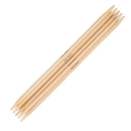 Addi Bamboo Double Point Needles 20cm (8in)