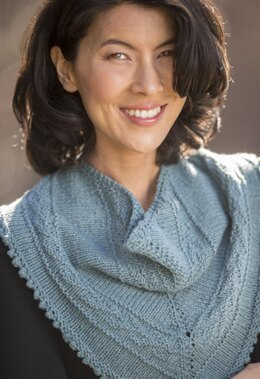 Thelonius Cowl in Cascade Yarns Friday Harbor - W749 - Downloadable PDF
