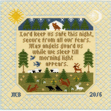 Bothy Threads The Prayer Sampler Cross Stitch Kit