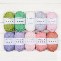 Paintbox Yarns Wool Mix Aran 10 Ball Colour Pack