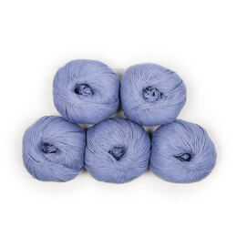 MillaMia Naturally Soft Cotton 5 Ball Value Pack