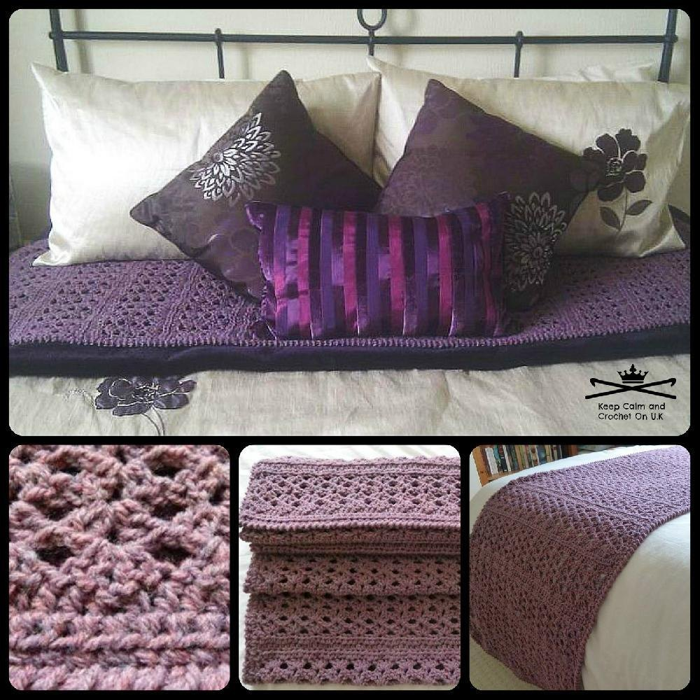 Chunky Cosy Bed runner Crochet pattern by Keep Calm and Crochet On ...