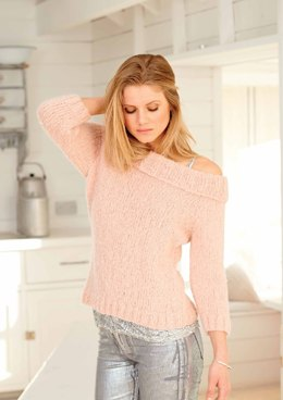 Cardigan and Sweater in Rico Fashion Light Luxury - 353 - Leaflet