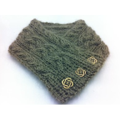 Braided Cable Neckwarmer
