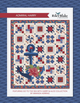 Riley Blake Admiral Harry - Downloadable PDF