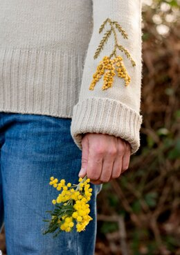 Anchor Mimosa Embroidered Sweater - ANC0003-106 - Downloadable PDF