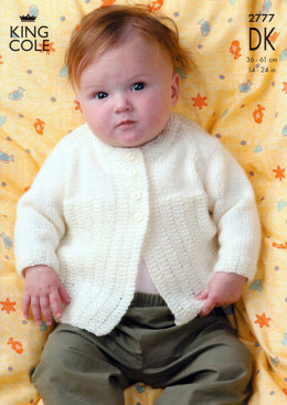 Jackets and Sweater in King Cole Merino Blend DK - 2777