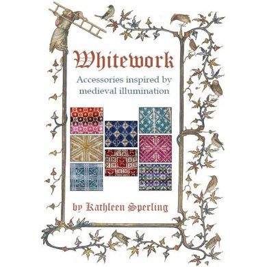 Whitework: Accessories inspired by medieval illumination