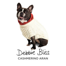 Aran Doggy - Free Dog jumper Knitting Pattern For Dogs in Debbie Bliss Cashmerino Aran by Debbie Bliss