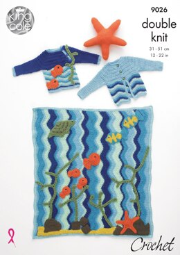 Under The Sea in King Cole DK - 9026 - Downloadable PDF