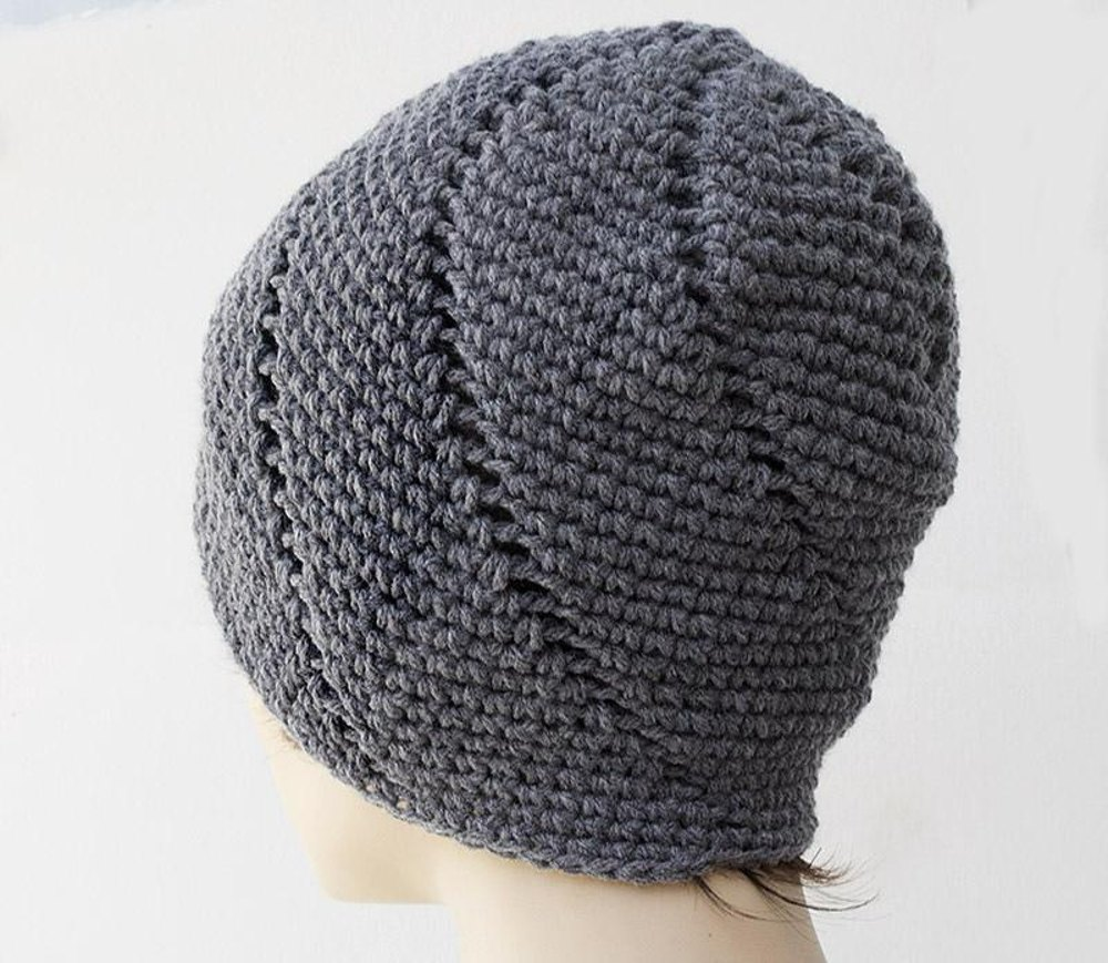 Spiral Beanie Crochet pattern by Judith Stalus a7b622be80b