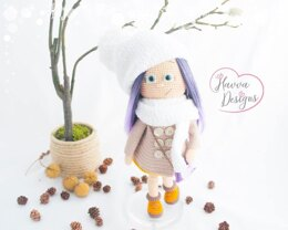 Winter Doll - Havva Designs