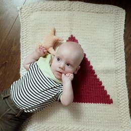 Pip & Pin's Triangle Baby Blanket