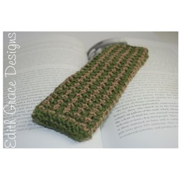 Tweed Pattern Bookmark