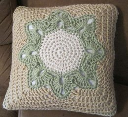 Big Flower Afghan Square