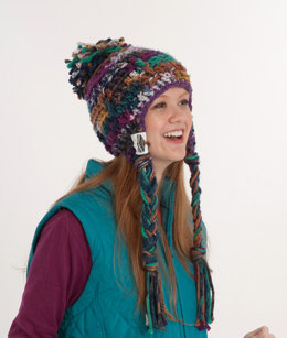 Aspen Hat in Schachenmayr Bravo Big Color and Boston Style -  DC1011 - Downloadable PDF