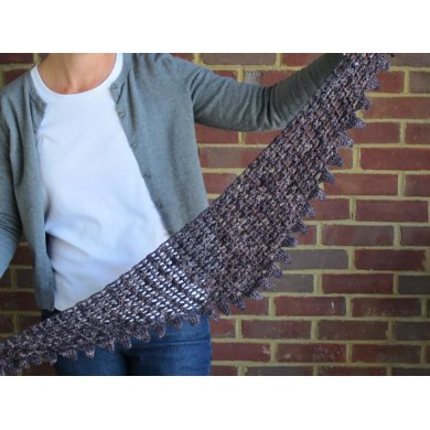 Textured Triangle Scarf