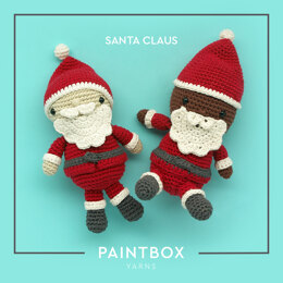 Santa Claus - Free Toy Crochet Pattern For Christmas in Paintbox Yarns Cotton Aran by Paintbox Yarns