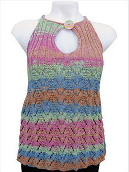 Lacy Summer Tunic in Knit One Crochet Too Ty-Dy - 1434