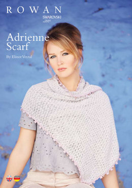 Adrienne Scarf in Rowan Summerlite 4 Ply - ROC015 - Downloadable PDF