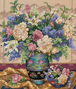 Dimensions Oriental Splendor Cross Stitch Kit