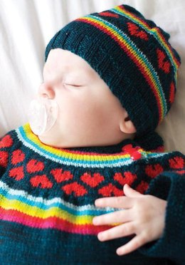 I heart rainbows sweater
