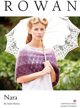 Nara Cape in Rowan Kidsilk Haze - Downloadable PDF