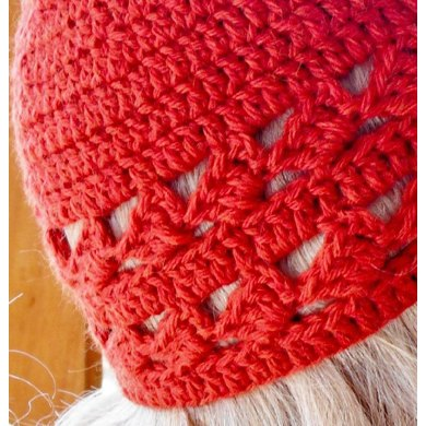 Diamonds crochet hat