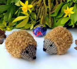 Chocolate Hedgehugs - Easter Egg Cosies