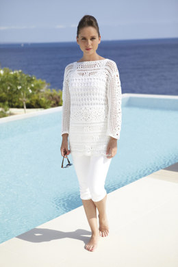 Crochet Summer Tunic in Sirdar Cotton DK - 7076