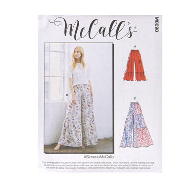McCall's Misses' Pants M8098 - Sewing Pattern