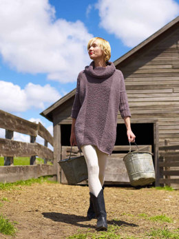 Essential Sweater Dress in Imperial Yarn Columbia - PC03