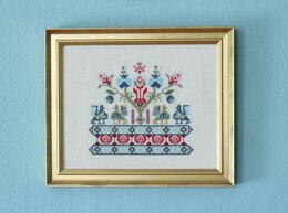 Avlea Folk Embroidery Pella Pouli - Downloadable PDF