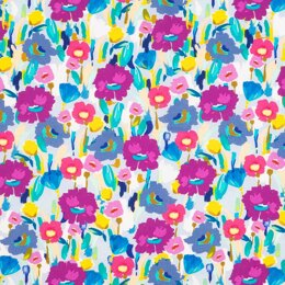 LoveCrafts Painterly Blooms - Brushed Floral