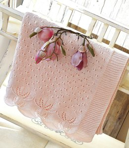 Butterfly Kisses Baby Blanket - P119