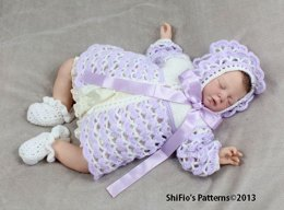Athena Rose Baby Crochet pattern #14